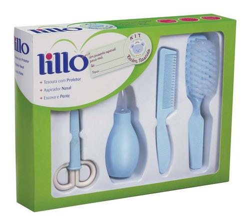 Kit De Higiene Para Recém Nascido Azul - Lillo
