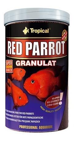 Ração Tropical Red Parrot 400g - Ciclídeos & Peixes Papagaio