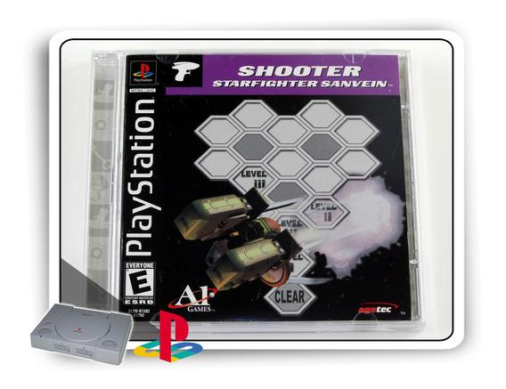 Shooter Starfighter Sanvein Original Playstation 1 Ps1