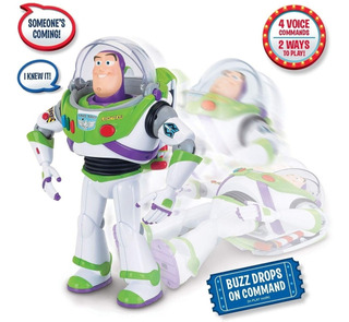 Disney Toy Story 4 Buzz Lightyear Interactivo Orig Tor 64432