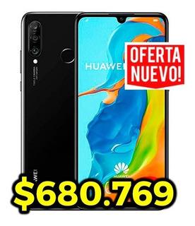 Celular Libre Huawei P30 Lite 128gb 32mp 4ram+estuche