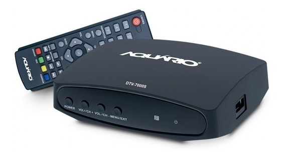 Conversor E Gravador Digital Aquário Dtv-7000s Com Cabo Hdmi