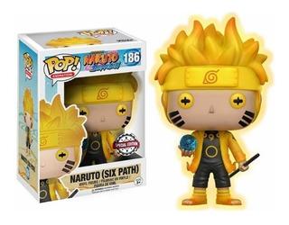 Funko Pop Naruto - Naruto Six Path 186 Exclusivo - Original