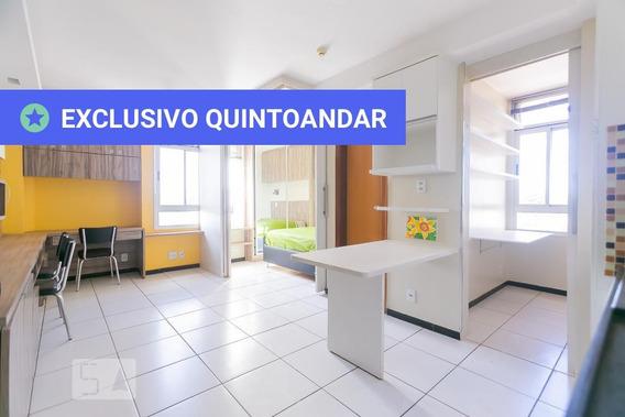 Apartamento No 4º Andar Mobiliado Com 2 Dormitórios E 1 Garagem - Id: 892925848 - 225848