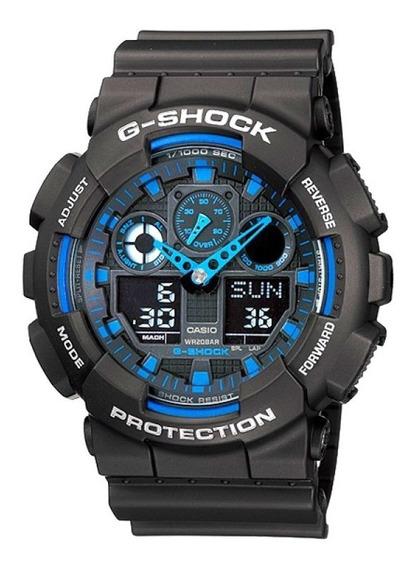 Relógio Casio Masculino G-shock Ga100-1a2dr Original,barato