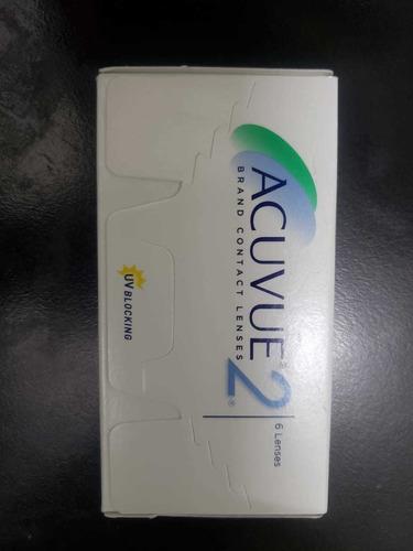 Lentes De Contacto Acuvue2 - 2.75