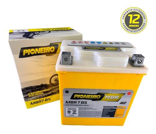 Imagem 1 de 4 de Bateria Pioneiro Mbr7bs Ytx7l-bs Yamaha Ys Fazer Limited 05