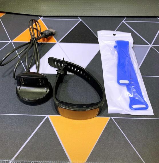 Samsung Gear Fit 2 Pro | L/g | Preto | + Pulseira | Usado
