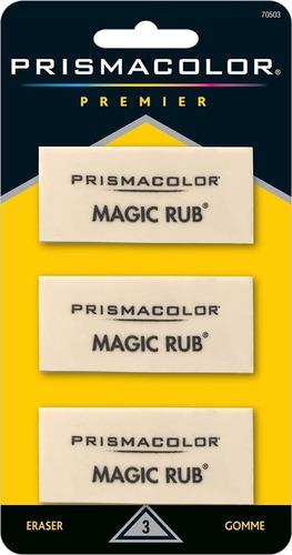 3 Gomas De Borrar Prismacolor Premier Eraser Vinyl Magic Rub