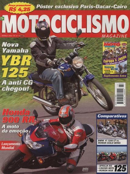 Motociclismo N°27 Yamaha Ybr 125 Honda 900 Rr Cagiva Mito