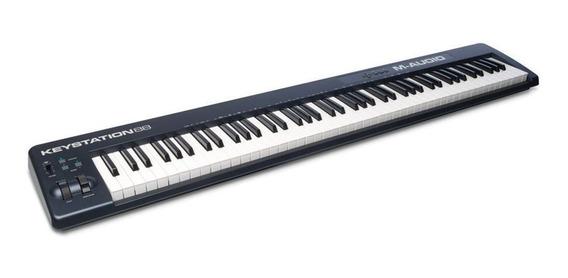 Teclado Controlador Midi Usb M-audio Keystation 88 F