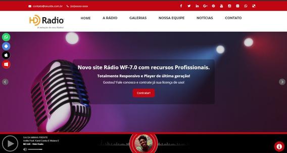 Site Adminstravel Rádios Moderno E Responsivo Pagto Mensal