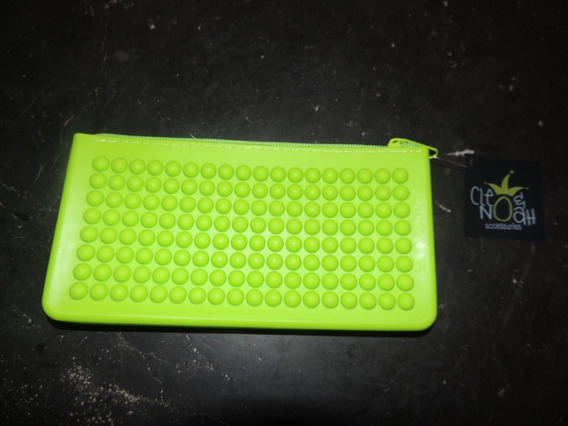 Cartucheras Disponibles En Verde, Naranja, Azul Y Amarillo