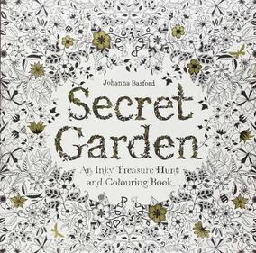 Livro Segret Garden (jardim Secreto) Para Colorir Pintar