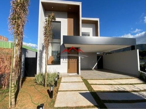 Imagem 1 de 30 de Casa A Venda Condomínio Brisas Jundiaí Em Jundiaí Sp - Ca00427 - 69298503
