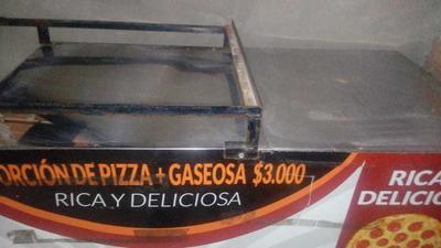Se Vende Carrito De Pizzas Muy Buen Estado Con Pipeta