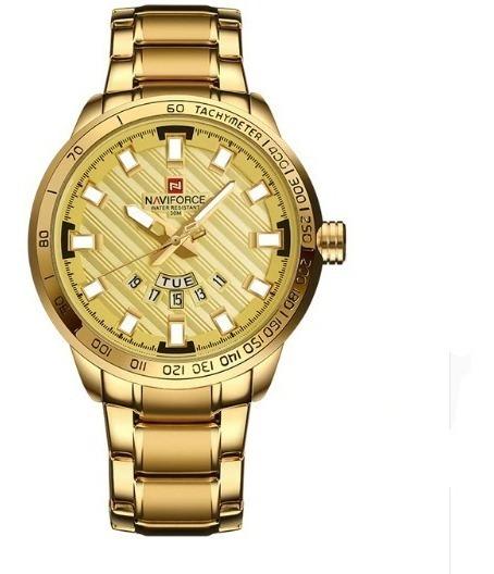 Relógio Naviforce Pulso Masculino Feminino Luxo Barato 9090