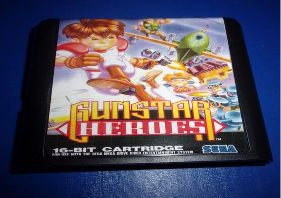 Gunstar Heroes Mega Drive (paralelo Novo)