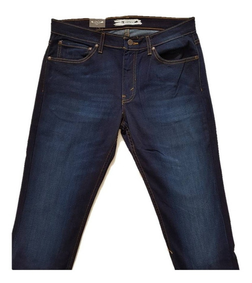 Jeans Mezclilla Caballero Trd Dark Tmo6818 Tallas Grandes