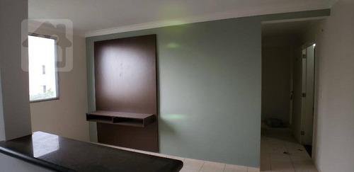 Imagem 1 de 16 de Apartamento À Venda, 42 M² Por R$ 165.000,00 - Conjunto Habitacional Doutor Antônio Villela Silva - Araçatuba/sp - Ap0337