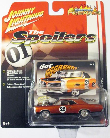 Johnny Lightning 1967 Pontiac Gto Mide 8 Cm. Escala 1/64
