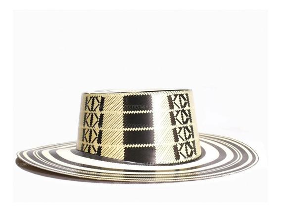 Sombrero Vueltiao De Cartón Hora Loca X12