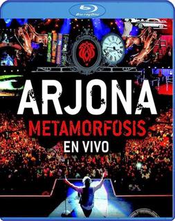 Ricardo Arjona Metamorfosis Blue Ray Vivo Tour Mas Exitoso