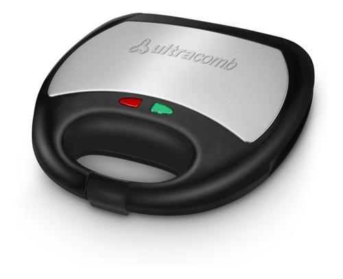 Imagen 1 de 9 de Sandwichera Electrica 750w Antiadherente Ultracomb Sw2800
