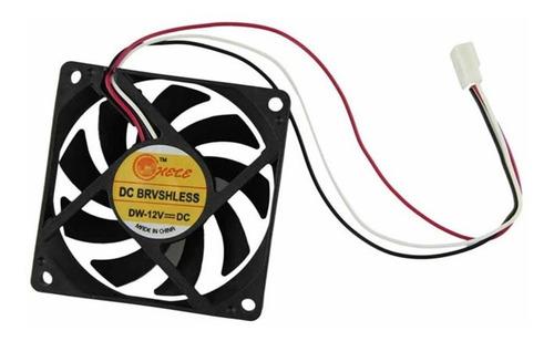 Fan Cooler Extractor Ventilador 7cm 70mm Pc Case Tienda