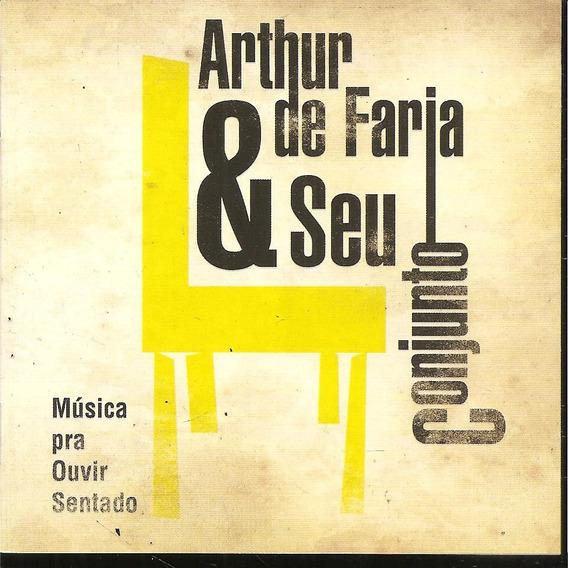 Cd - Artur De Faria & Seu Conjunto - Cida Moreira - Novo