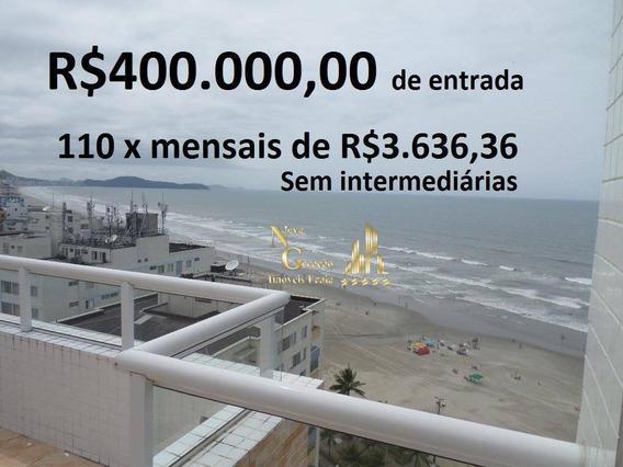 Cobertura Em Praia Grande, 3 Dormitórios, Cidade Ocian, Praia Grande, Apartamentos, Lançamentos,casas - Co0004