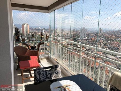 Apartamento - Vila Guilherme - Sacada Envidraçada  - St13967