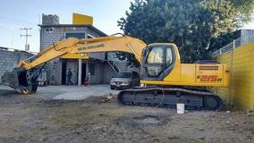 Renta Excavadora 20 Toneladas Semanal