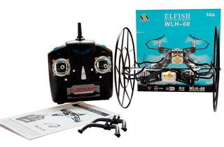 Drone Weilihua 4 Helicer Con Control Remoto Wlh-08