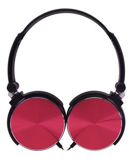 Auricular Noblex Hp107br Rojo