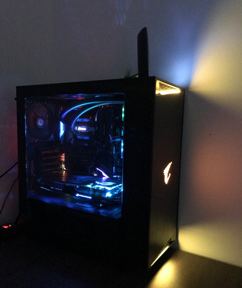 Pc Gamer I7 8700k Msi Z370 Carbon 16gb Ram Gtx 1080 Strix