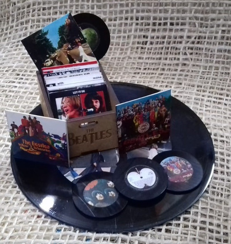 The Beatles Miniatura Decoracion Vinilos