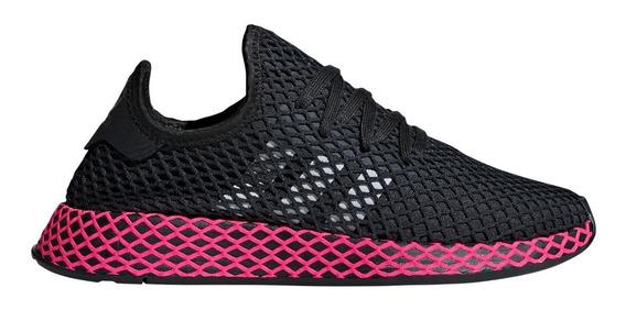 Zapatillas adidas Originals Deerupt Runner Negras De Mujer