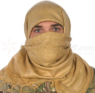 Bufanda Arabe Shemagh Mil-tec 100% Algodon Varios Colores