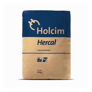 Cemento De Albañileria Hercal Holcim 40 Kg Simil Plasticor