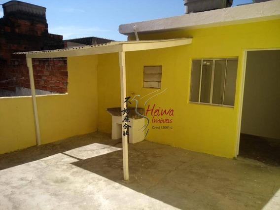 Casa Com 1 Dormitório Para Alugar, 25 M² Por R$ 850,00/mês - Jardim Santo Elias - São Paulo/sp - Ca1064