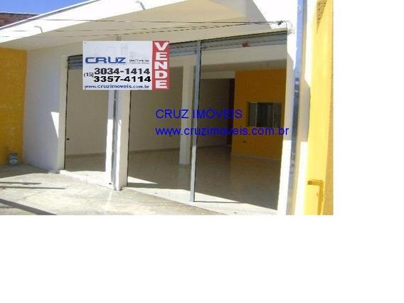 Salão Comercial Vende, Sorocaba, 85 M² - Sl00090 - 3541029