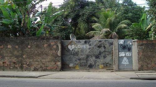 Terreno À Venda, 1420 M² Por R$ 600.000,00 - Várzea Das Moças - São Gonçalo/rj - Te3933