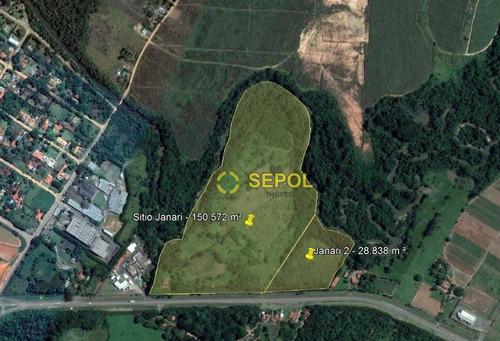 Área À Venda, 150000 M² Por R$ 15.000.000 - Centro - Monte Mor/sp - Ar0014