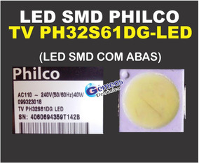 (25 Pçs) Led Smd Tv Philco Ph32s61dg Tv Ph32s61dg