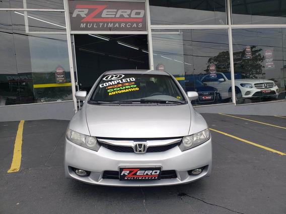 Honda Civic Lxs 2009 Automático Completo Revisado