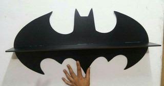 Prateleira Batman Em Mdf Cru Mais Um Brinde