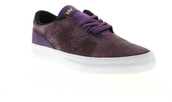 Supra Lizard Hombres Púrpura Gamuza Atlético Zapatos De Sk