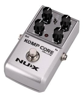 Pedal Guitarra Komp Core Deluxe True By Pass Nux