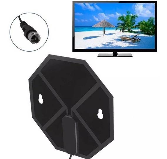 Antena Para Interior Tv Digital Tdt Ganancia 5dbi 1 Metro